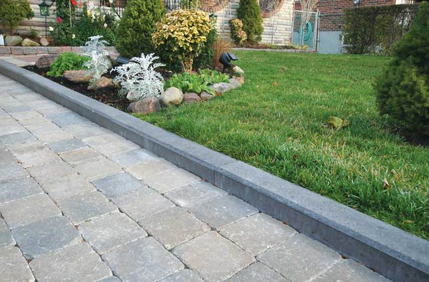 The driveway solution kwik kerb strathroy continuous for Quik curb